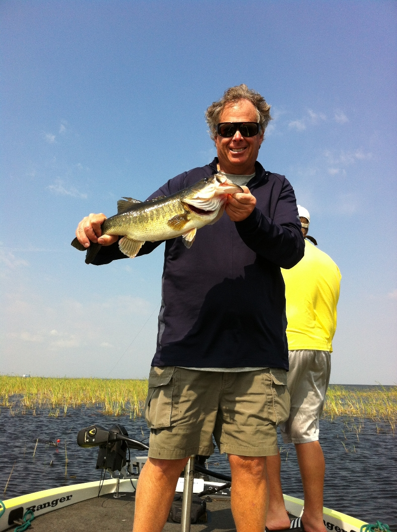 Capt tony summers lake okeechobee bass fishing for Captain tonys fishing