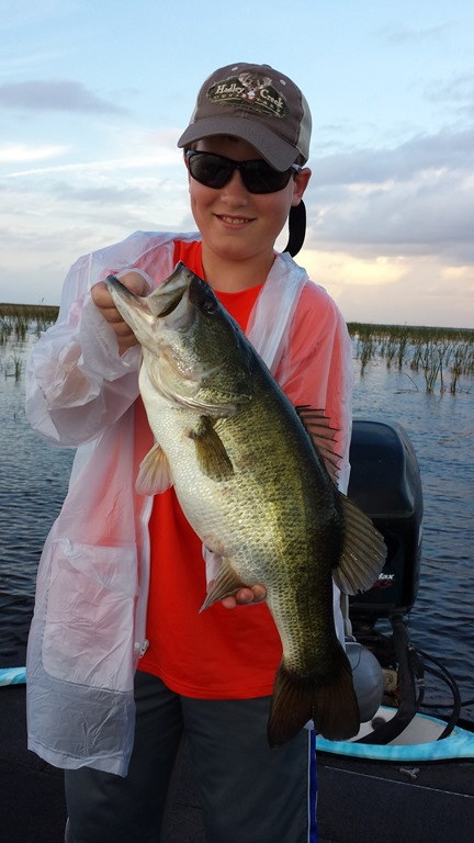 A Great Start To The New Year Lake Okeechobee Bass Fishing