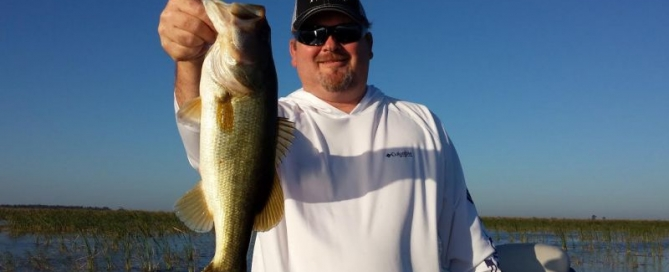Bass Fishing Okeechobee