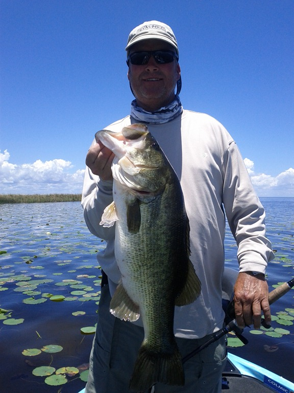 The bass fishing lake okeechobee the best lake for Best bass fishing times