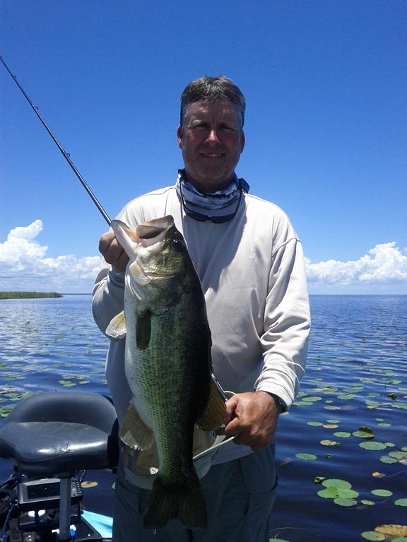 The bass fishing lake okeechobee the best lake for Bass fishing times