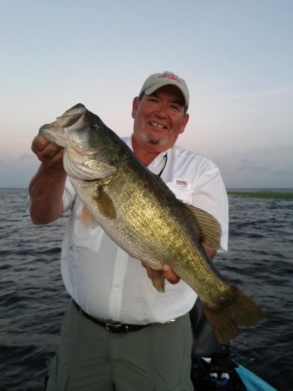 Lozano trophy bass fishing on big lake okeechobee lake for Big bass fishing