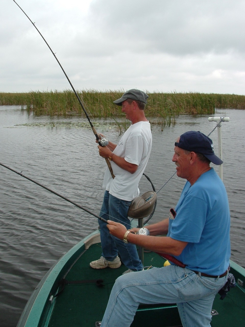 Okeechobee summertime pattern fishing with capt dave for Capt dave fishing