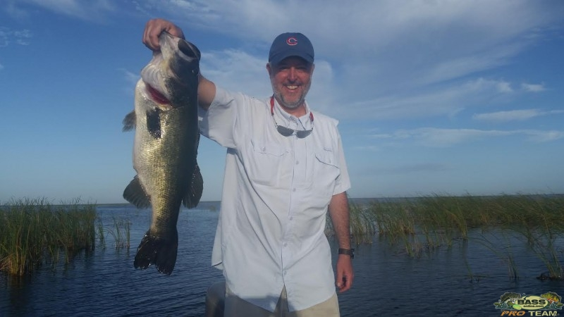 Okeechobee big Bass report