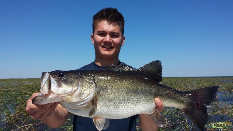 Family Bass Fishing Trip On Lake Okeechobee