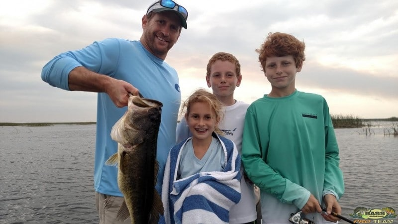 Family Bass Fishing Trip On the Big O