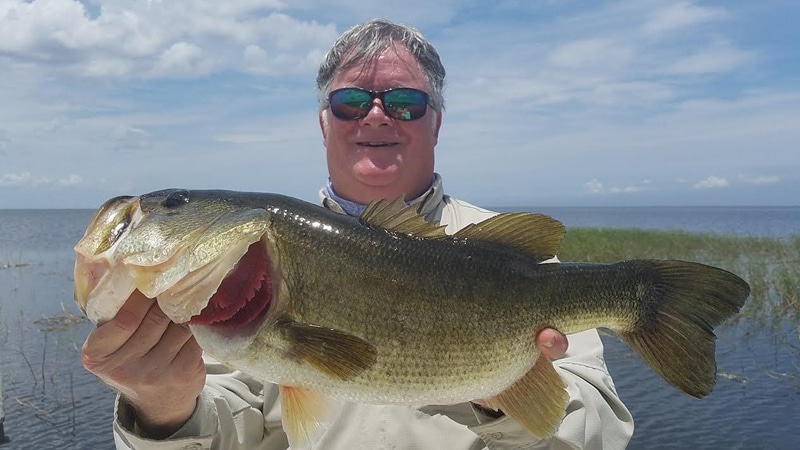 July Lake Okeechobee Bass Fishing