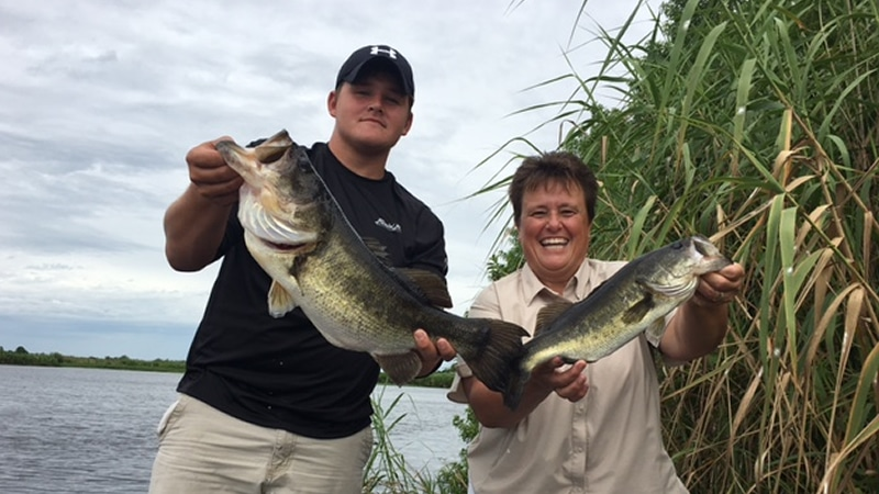 Lake okeechobee fishing report for Bass fishing trips