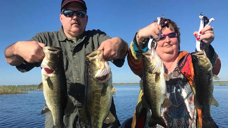 Harney Pond Fishing on Lake Okeechobee in Florida