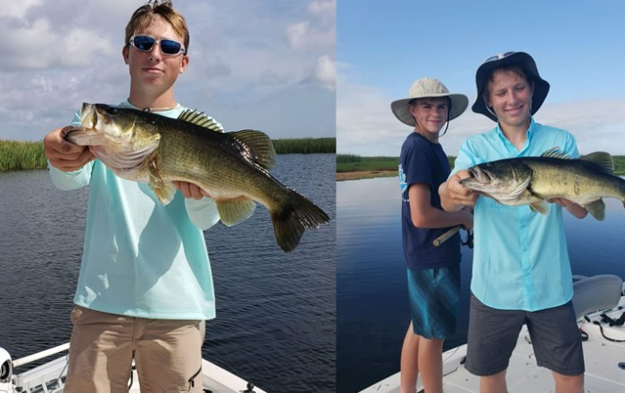 Great Bass Fishing Action